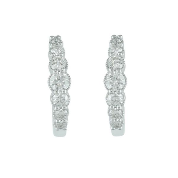 10KW .73ctw Diamond Hoops Waddington Jewelers Bowling Green, OH