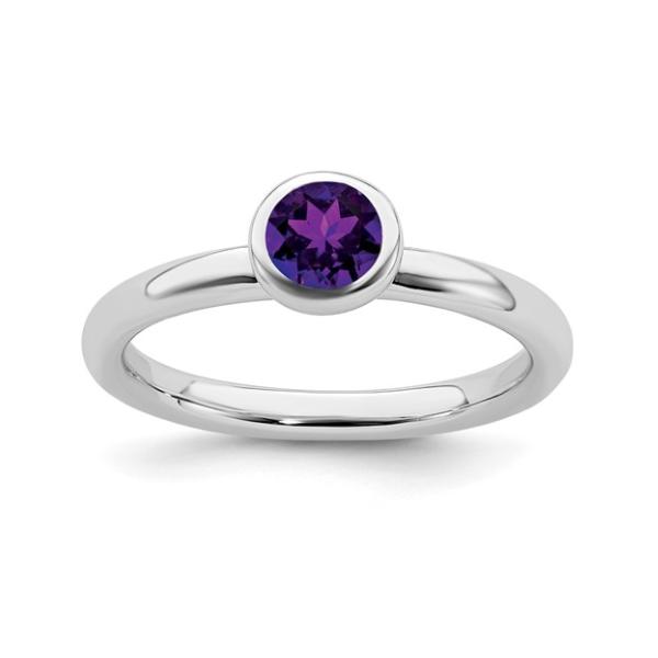 February Birthstone Ring Waddington Jewelers Bowling Green, OH