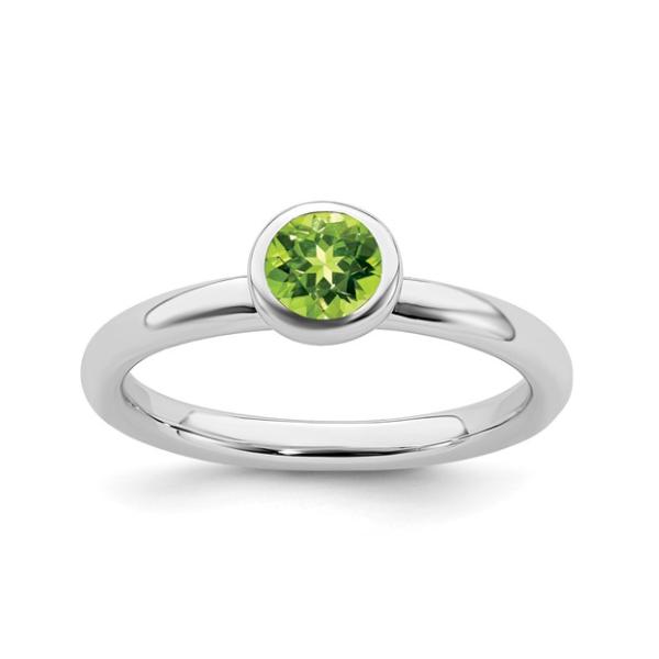 August Birthstone Ring Waddington Jewelers Bowling Green, OH