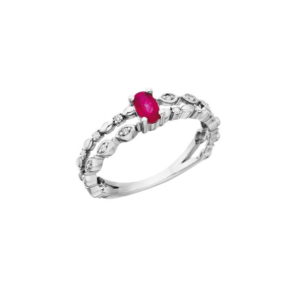 10K Ruby Diamond Ring Waddington Jewelers Bowling Green, OH