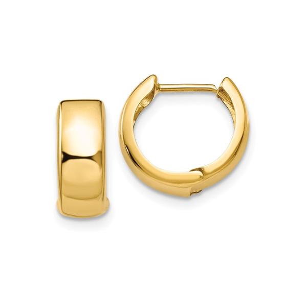 14K Huggie Earrings Waddington Jewelers Bowling Green, OH
