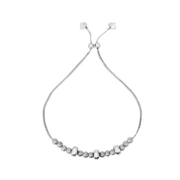 Sterling Silver Bead Bolo Bracelet Waddington Jewelers Bowling Green, OH