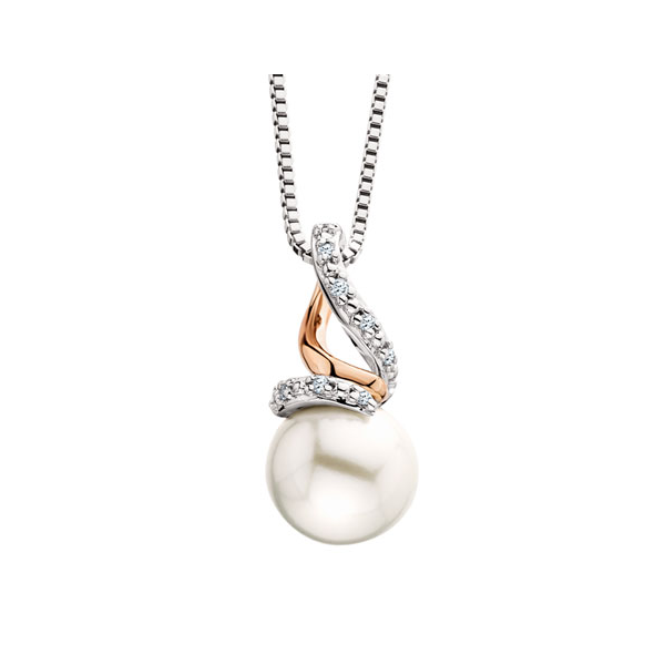 Sterling Silver Pearl Pendant Waddington Jewelers Bowling Green, OH