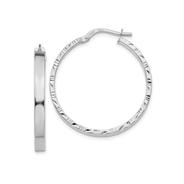 14K Hoop Earrings Waddington Jewelers Bowling Green, OH
