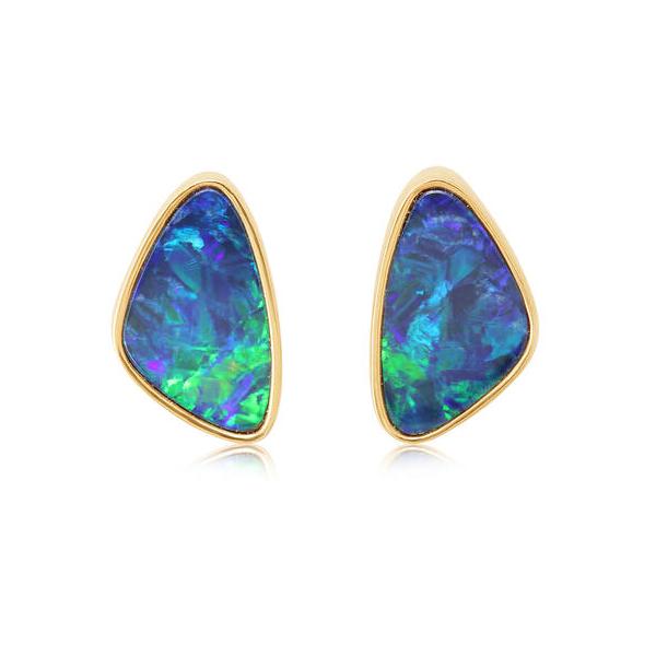 14K Opal Earrings Waddington Jewelers Bowling Green, OH