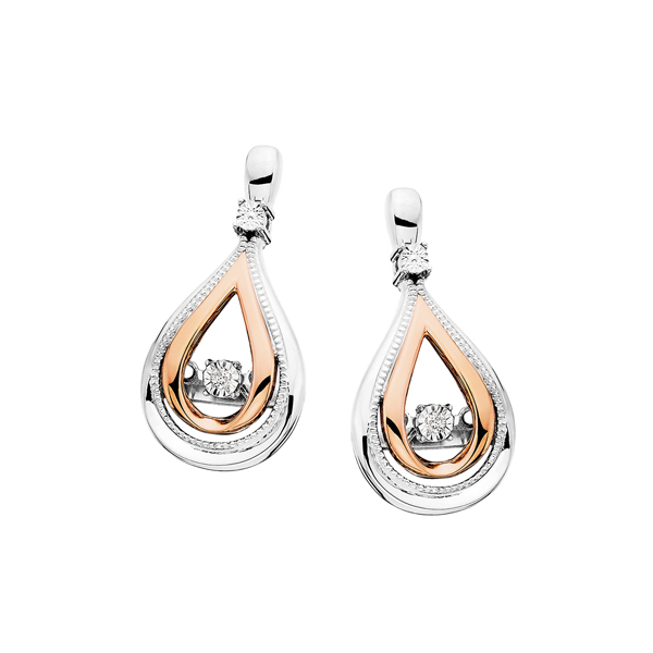 Sterling Silver .02ctw Diamond Earrings Waddington Jewelers Bowling Green, OH