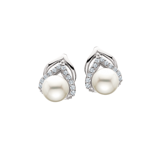 Sterling Silver Pearl Earrings Waddington Jewelers Bowling Green, OH