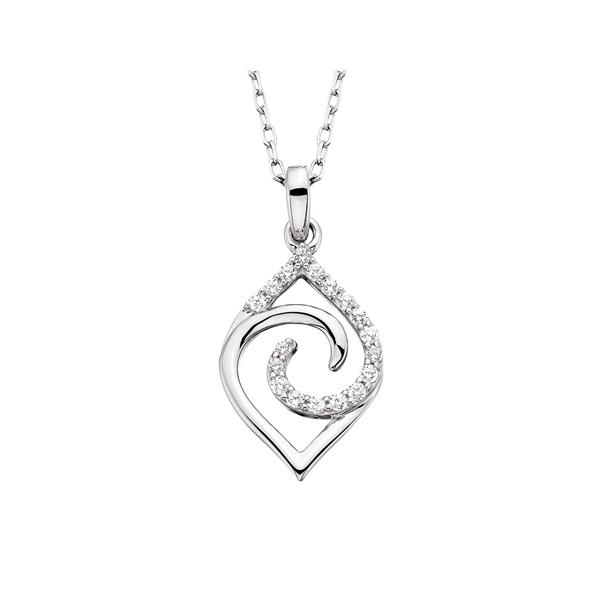 10K .08ctw Diamond Pendant Waddington Jewelers Bowling Green, OH