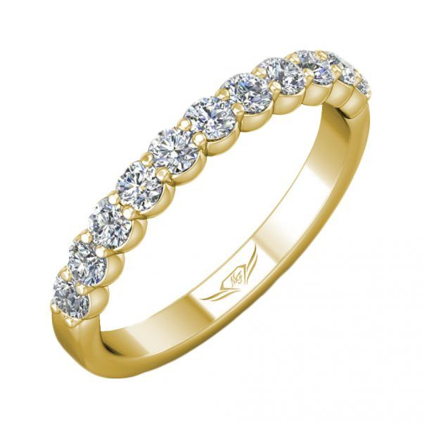 Diamond Shared Prong Band Wesche Jewelers Melbourne, FL
