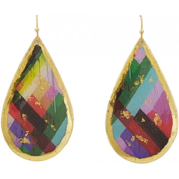 """Whitney"" Large Teardrop Earrings Wesche Jewelers Melbourne, FL"