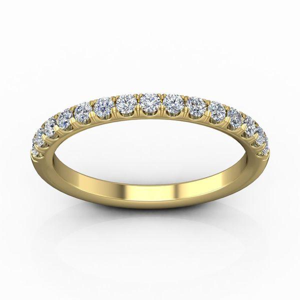 Diamond Cutdown Micropave Band Wesche Jewelers Melbourne, FL