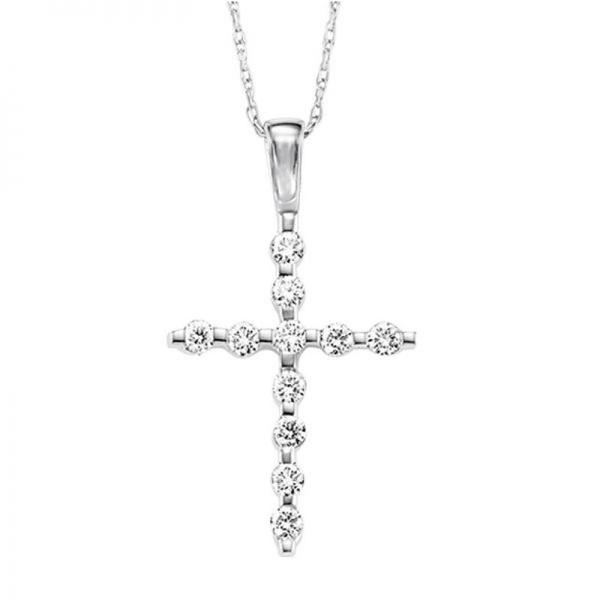 Diamond Cross Pendant Wesche Jewelers Melbourne, FL