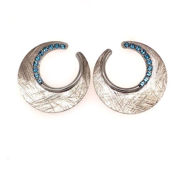 Blue Topaz Earrings Wesche Jewelers Melbourne, FL