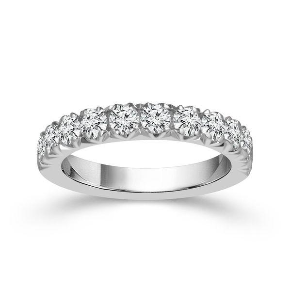 Diamond Fishtail Set Band Wesche Jewelers Melbourne, FL