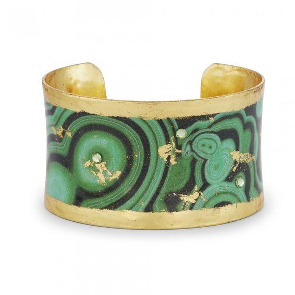 """""""Malachite"""" Corset Cuff Wesche Jewelers Melbourne, FL"""
