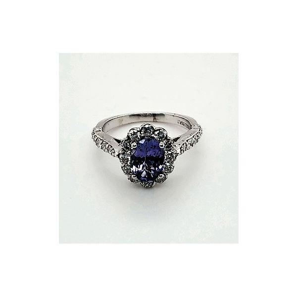 Oval Tanzanite Ring Wesche Jewelers Melbourne, FL