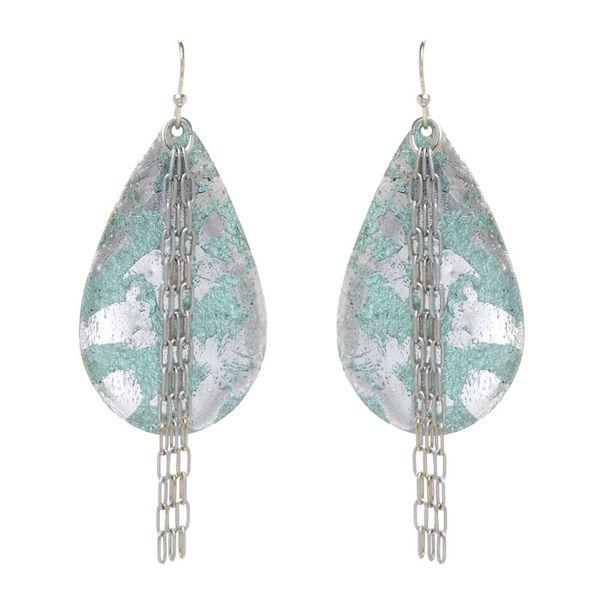 """Champagne"" Chain Drop Earrings Wesche Jewelers Melbourne, FL"