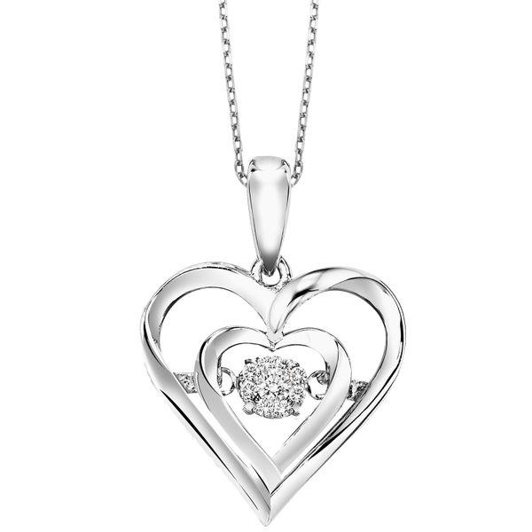 Rhythm of Love Diamond Heart Necklace Your Jewelry Box Altoona, PA
